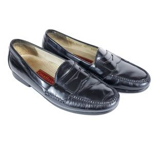 Leather Cole Haan Black Pinch Penny Loafer  11 D